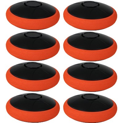 Tabletop E-Hockey Electronic Rechargeable Puck 2??? - 8-Pack - Sunnydaze Decor
