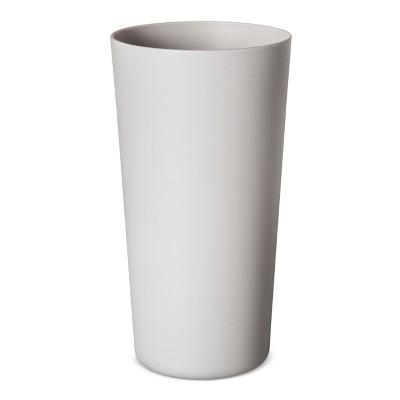 Plastic Tumbler 26oz Silver - Room Essentials™