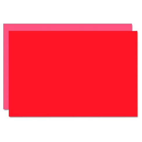 Eco Brites Too Cool Foam Board, 20x30 - Light Red (5 Per Carton) - image 1 of 1