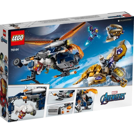 LEGO Super Heroes Marvel Avengers Hulk Helicopter Rescue 76144 image number null
