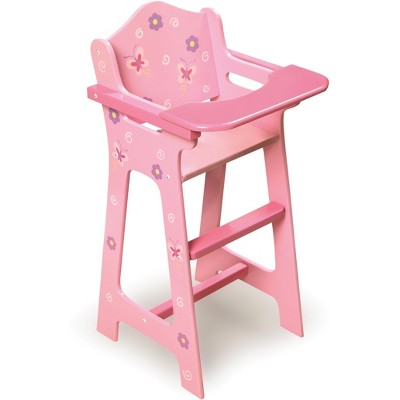 Badger Basket Blossoms & Butterflies Doll High Chair