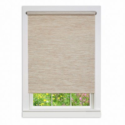 Cords Free Privacy Jute Shades and Blinds Beige - Achim