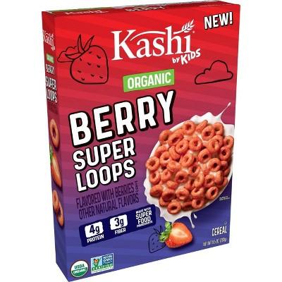 Kashi Kids' Super Loops Berry Cereal - 9.5oz