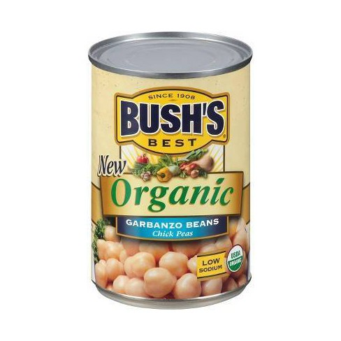 Bush's® Organic Garbanzo Beans - 16oz - image 1 of 4