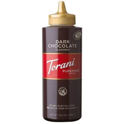 Torani Dark Chocolate Sauce - 16.5oz