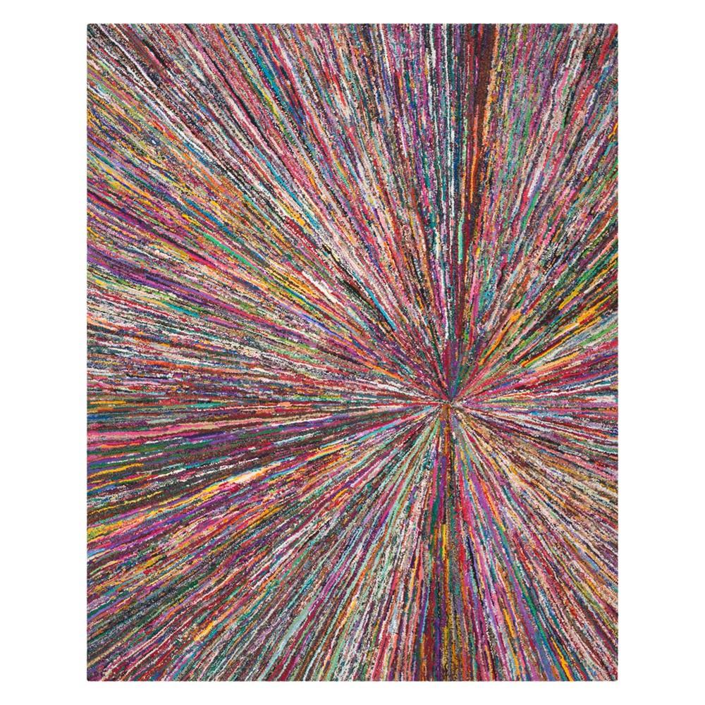9'X12' Burst Tufted Area Rug - Safavieh, Multicolored