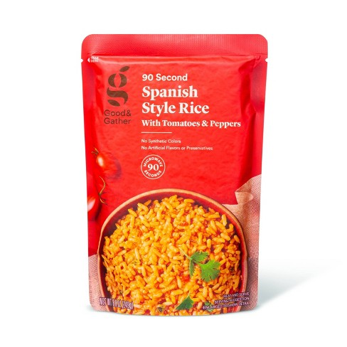 Spanish Style Rice with Tomatoes and Peppers Microwavable Pouch - 8.8oz - Good & Gather™ - image 1 of 2