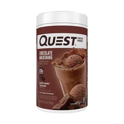 Quest Protein Powder - Chocolate - 25.6oz