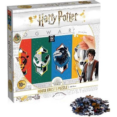 Top Trumps Harry Potter House Crests 500 Piece Jigsaw Puzzle