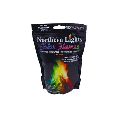 GoFire Northern Lights Color Flames - 10pk