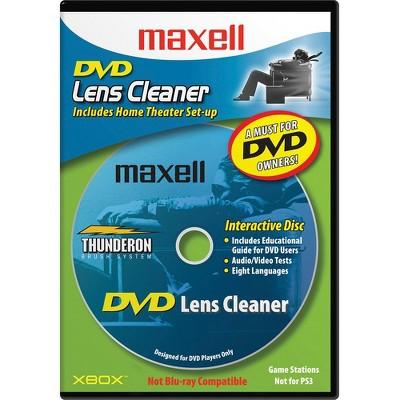 Maxell DVD-LC DVD Lens Cleaner - 1 Each