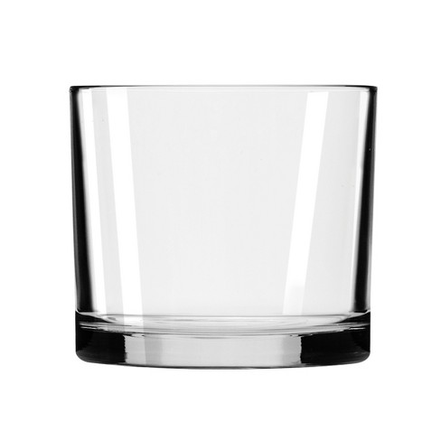 """Glass Capstan Cylinder Vase Clear 4.5"""" - Libbey - image 1 of 4"""
