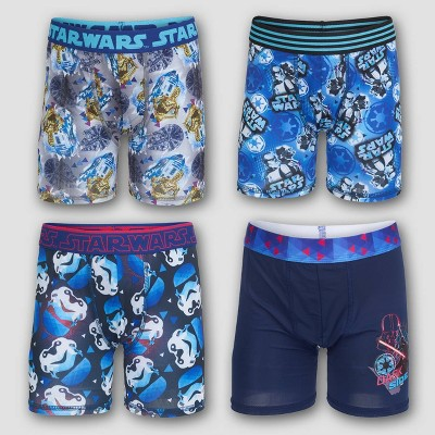 Boys' Star Wars 4pk Underwear