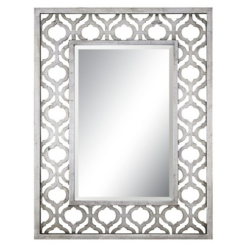 Rectangle Sorbolo Decorative Wall Mirror Silver - Uttermost - image 1 of 2