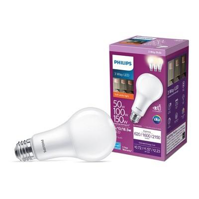 Philips Premium A19 60W E26 5000K LED Light Bub Daylight T20