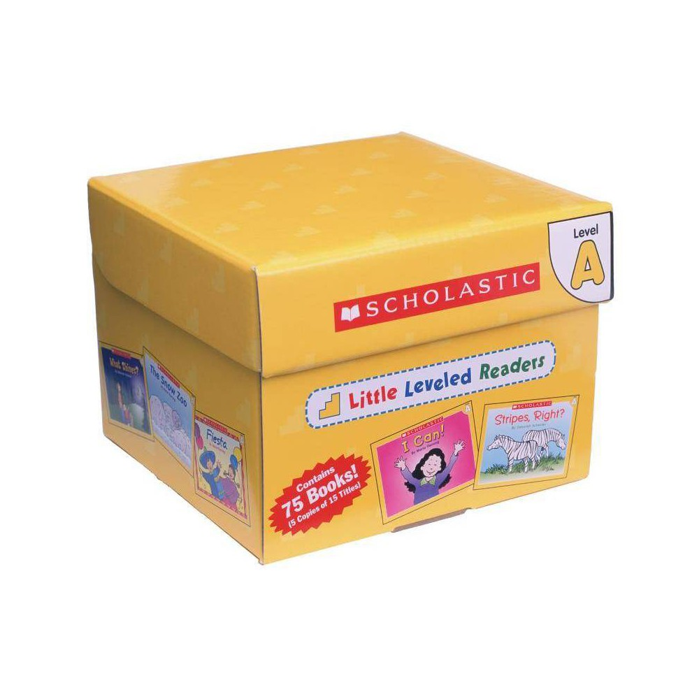 Little Leveled Readers Level A Box Set By Scholastic Teaching Resources Scholastic Hardcover