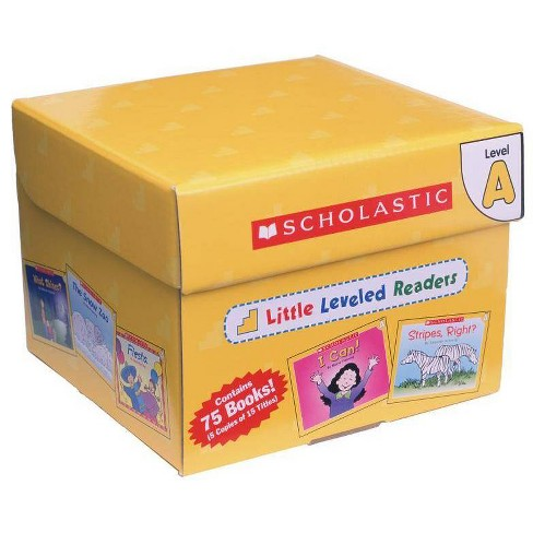 Little Leveled Readers: Level a Box Set - by  Scholastic Teaching Resources & Scholastic (Hardcover) - image 1 of 1