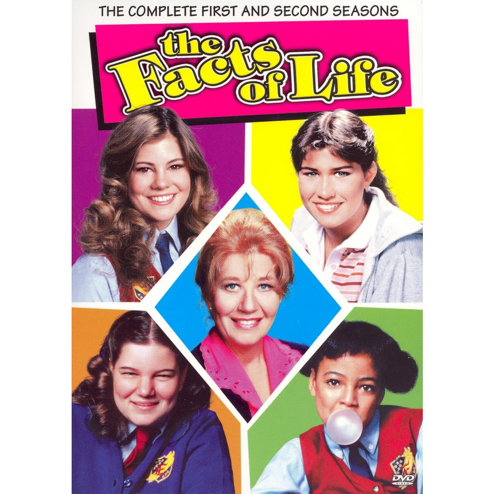 The Facts of Life: The Complete First and Second Seasons (4 Discs) (dvd_video)