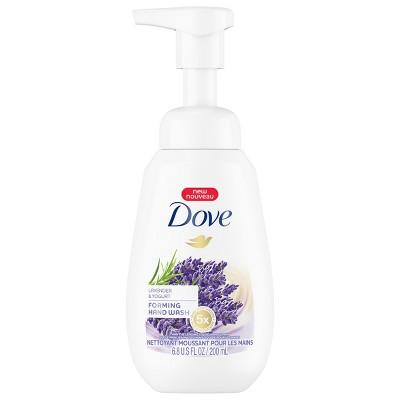 Dove Lavender & Yogurt Foaming Liquid Hand Wash Soap - 6.8oz