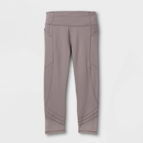 Girls' Side Pocket Capri Leggings - All in Motion™ - image 1 of 2