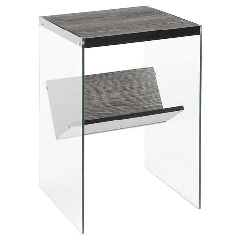 Soho End Table Gray - Johar Furniture - image 1 of 3