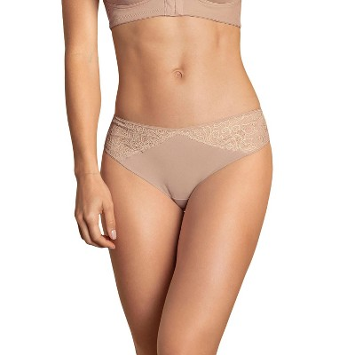 Leonisa Low-Rise Stretch Cotton Lace Panty