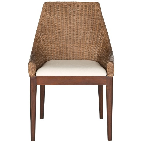 Dining Chair Wood/Brown - Safavieh - image 1 of 4