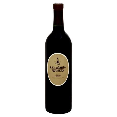 Columbia Winery Merlot Red Wine - 750ml Bottle - image 1 of 1