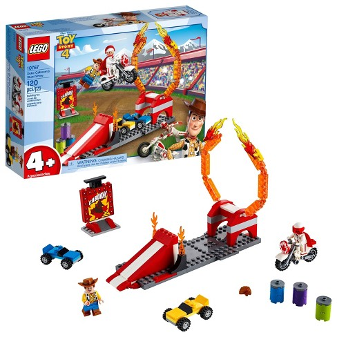 LEGO 4+ Disney Toy Story 4 Duke Caboom's Stunt Show 10767 - image 1 of 4