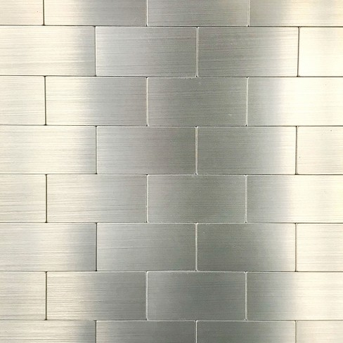 DIP Design Personal Large Wall Tiles Silver - image 1 of 4