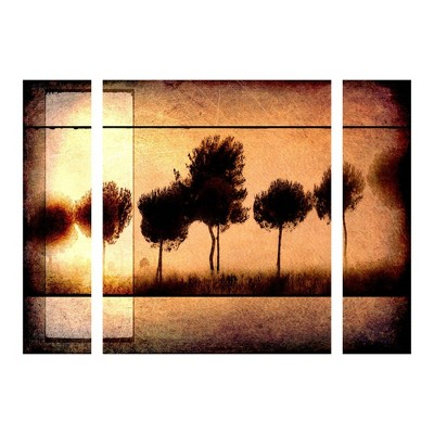 "27""x33.5"" Light Box Journal 'For the Love of Trees I' Multi Panel Decorative Wall Art set - Trademark Fine Art"