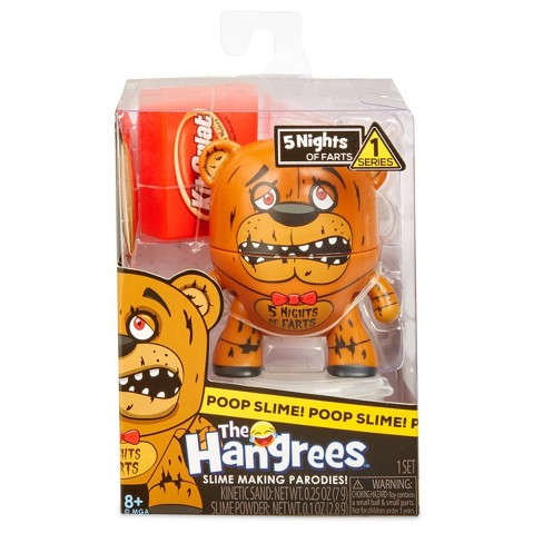 The Hangrees 5 Nights of Farts Collectible Parody Figure with Slime - image 1 of 4