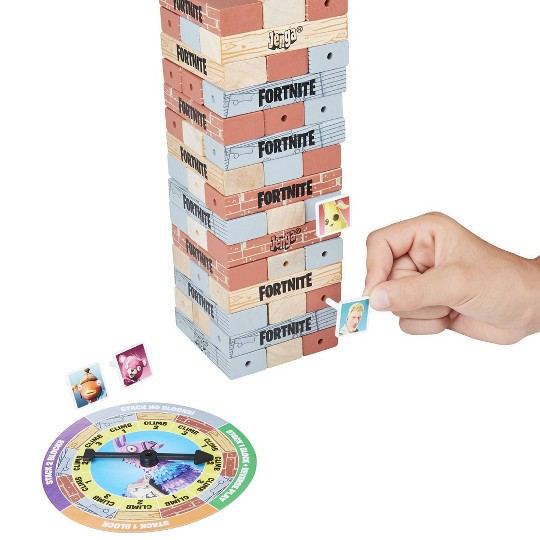 Jenga: Fortnite Edition Block Stacking Game image number null