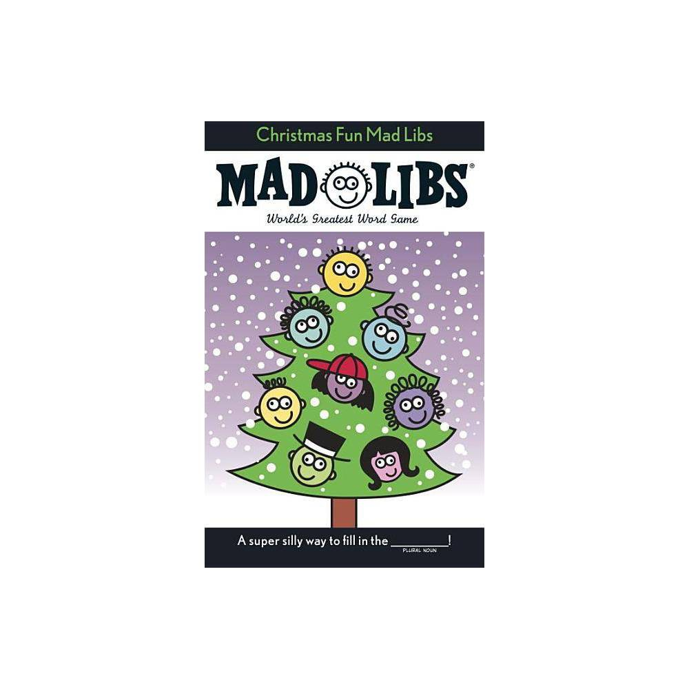 Christmas Fun Mad Libs By Roger Price Leonard Stern Paperback
