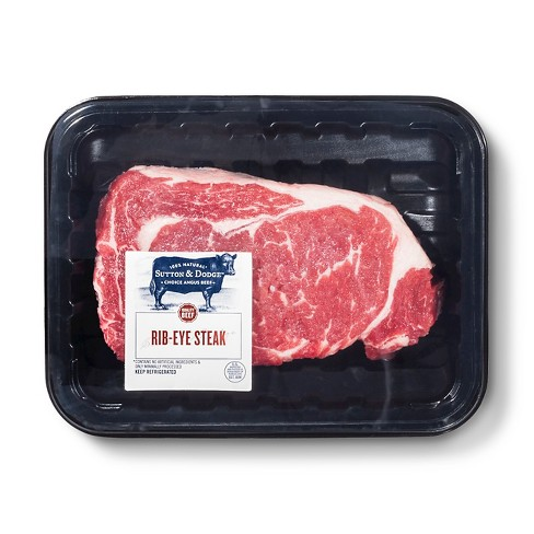 USDA Choice Angus Beef Boneless Ribeye Steak - RW - image 1 of 2