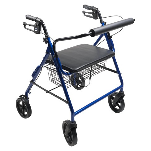 Lumex Walkabout Four Wheel Imperial Rollator - Blue - image 1 of 1