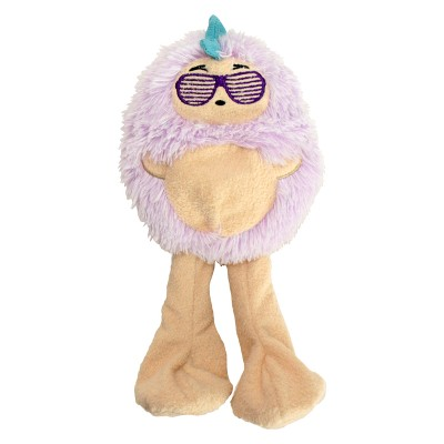 Punk Rock Hedgehog Plush Squeaks Dog Toy - S - Boots & Barkley™