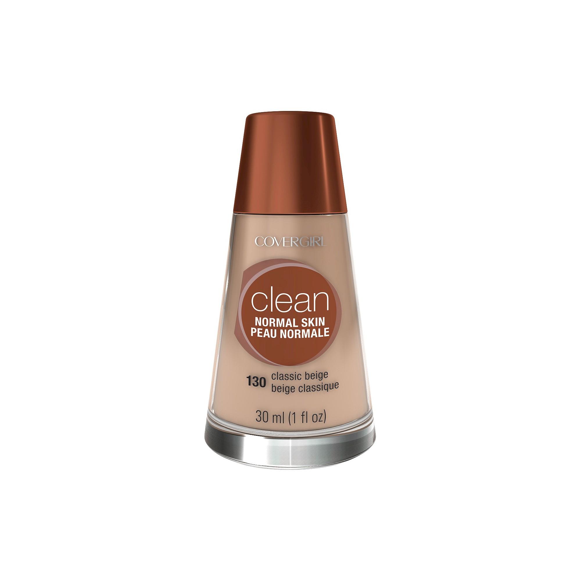 COVERGIRL Clean Foundation 130 Classic Beige 1 fl oz