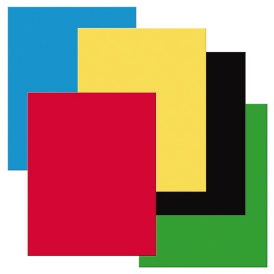 Pacon Heavy-Duty Poster Board, Primary Assorted Colors, pk of 25