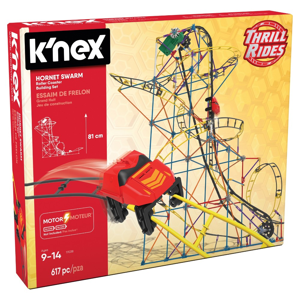 K'nex Hornet Swarm Roller Coaster Building Set