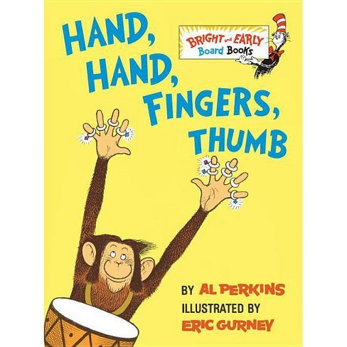 Hand, Hand, Fingers, Thumb (Bright & Early Board Books) by Al Perkins - image 1 of 1