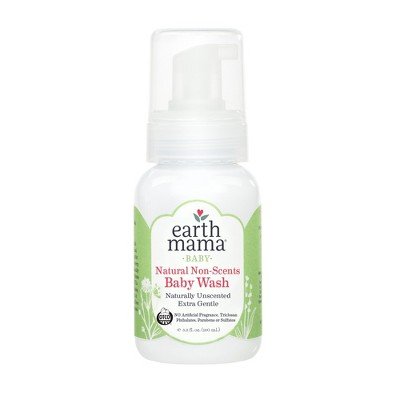 Earth Mama Simply Non-Scents Castile Baby Wash - 5.3 fl oz