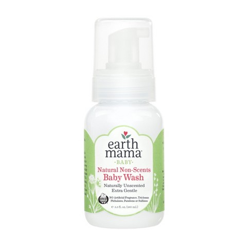 Earth Mama Natural Non-Scents Baby Wash - 160 ml (5.3 fl oz) - image 1 of 1
