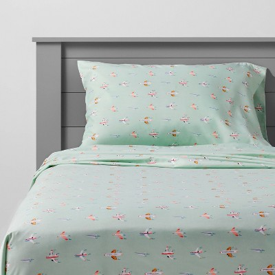 Airplane Microfiber Sheet Set - Pillowfort™