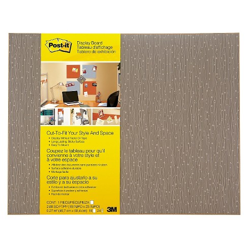 Post-it® Post-it Display Board, 18 x 23, Mocha, Frameless - image 1 of 1