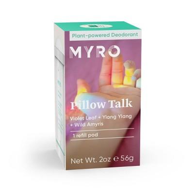 Myro Pillow Talk Deodorant Refill Pod - 2oz