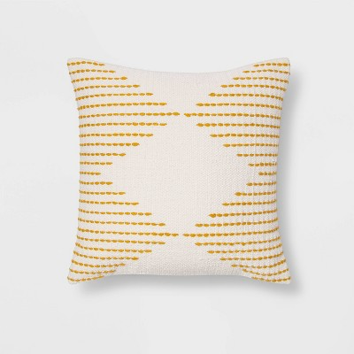Modern Stitched Square Throw Pillow - Project 62™