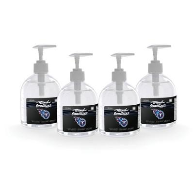 NFL Tennessee Titans 16oz Pump Top Hand Sanitizer - 4pk