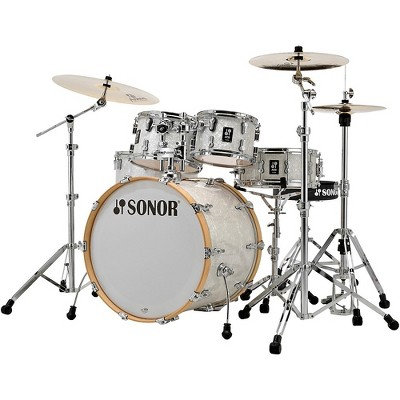 Sonor SONOR AQ2 Stage Maple 5-Piece Shell Pack White Marine Pearl
