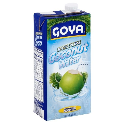 Goya 100% Pure Coconut Water - 33.8 fl oz Carton - image 1 of 4